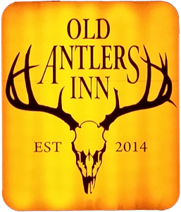 old-antlers-sign-logo
